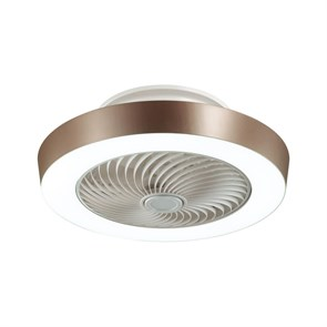 Люстра-вентилятор Sonex Fan brown 3035/72EL