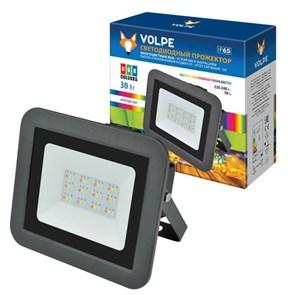 Прожектор светодиодный Volpe 30W RGB ULF-Q511 30W/RGB IP65 220-240В Black UL-00002562
