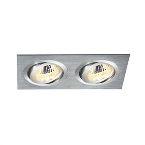 Встраиваемый светильник Elektrostandard 1011/2 MR16 CH хром 4690389055836