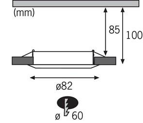 Потолочный светодиодный светильник Uniel ULI-P10-18W/SPFR IP40 Silver UL-00001262