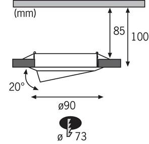 Настенный светодиодный светильник ЭРА Фито LLED-05-T5-FITO-18W-W Б0028201