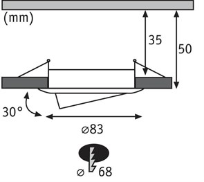 Светодиодный светильник для растений Uniel ULY-P90-10W/SPFR/K IP65 AC220V Clear KIT09 UL-00003852