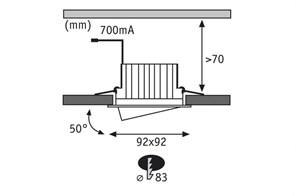 Настенный светодиодный светильник ЭРА Prom Fito-14W-Т5-N Б0045232