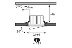 Прожектор светодиодный ЭРА PRO 100W 1200K Fito-100W-RB-Led Б0046369
