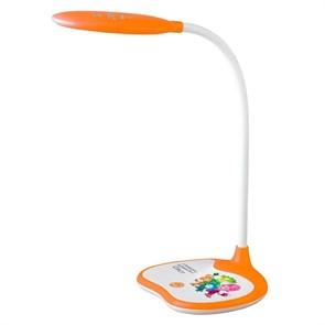Настольная лампа ЭРА Фиксики NLED-433-6W-OR Б0028463
