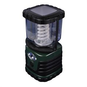 Кемпинговый энергосберегающий фонарь Uniel от батареек 122х122 13 лм TL091-B Green 03816