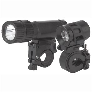 Велосипедный светодиодный фонарь ЭРА от батареек 80 лм (2 шт.) VB-601 Б0029194