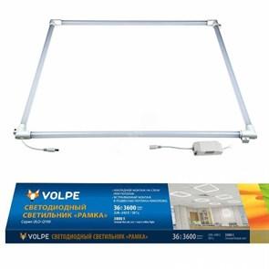 Встраиваемый светодиодный светильник Volpe ULO-Q190 6060-36W/3000K White UL-00004085