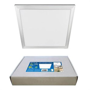 Встраиваемый светодиодный светильник Volpe ULP-Q107 3030-18W/4000K WHITE UL-00005344