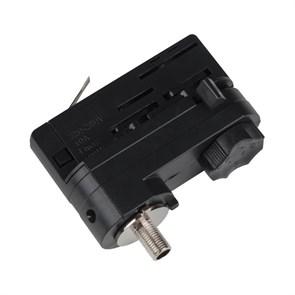 Адаптер для трехфазного шинопровода Uniel UBX-A61 Black 09788