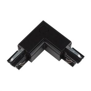 Соединитель для шинопроводов L-образный внутренний Uniel UBX-A22 Black 09766