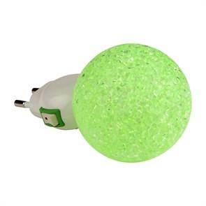 Настенный светодиодный светильник Uniel DTL-309-Шар/Green/1LED/0,1W 10330