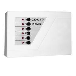 С-2000-ПУ, пульт управления, подключаемых цепей-6 (40 кор.)