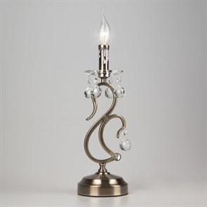 Настольная лампа Eurosvet 12505/1T античная бронза Strotskis
