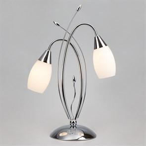 Настольный светильник Eurosvet 22080/2T хром